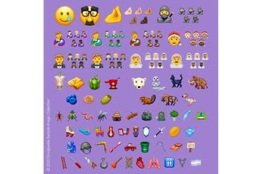 117 новых смайликов, одобренных Консорциумом Unicode, которые появятся в этом году