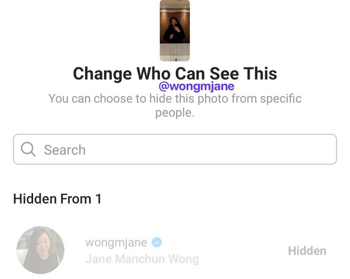 Image - Instagram Stories: скрыть их для определенных людей