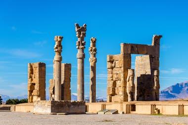 Руины Персеполя, столицы империи Ахеменидов