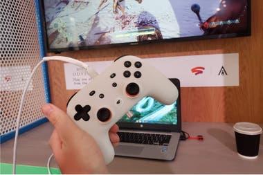 Stadia - сервис потоковой видеоигры от Google; Это зависит от соединения с низкой задержкой, чтобы работать хорошо