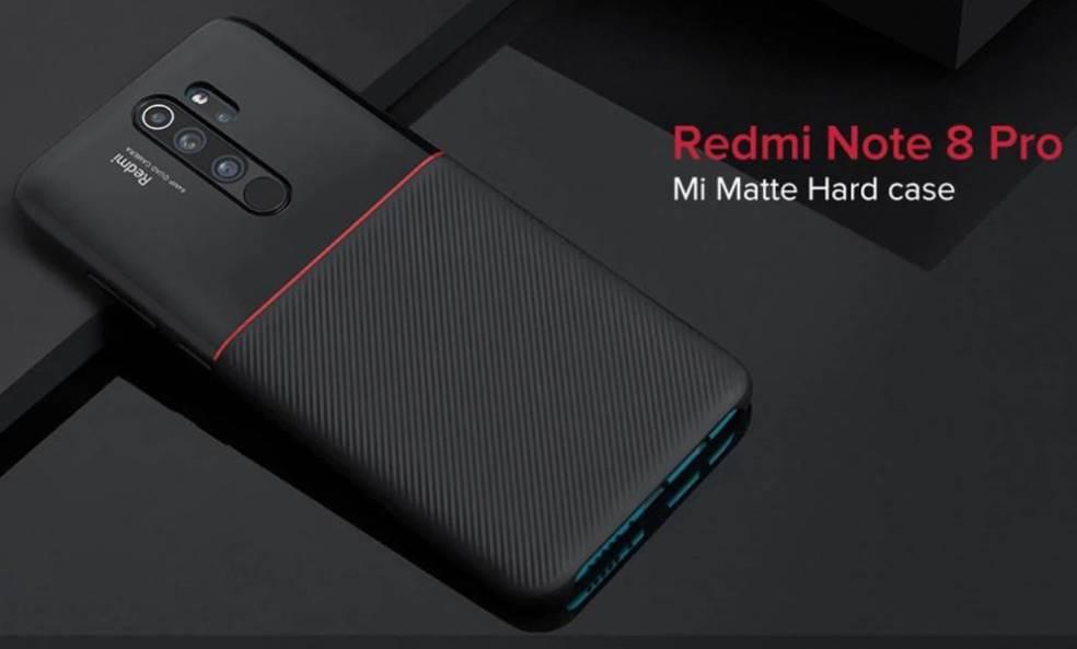 Новый прочный чехол Mi Matte для Redmi Note 8 Pro »ERdC