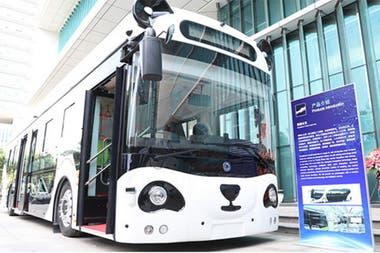 В Panda Bus, разработанном Deepblue, пассажиры могут совершать покупки на борту с помощью системы идентификации вен и оснащены экранами для рекламы с отслеживанием зрачка и распознаванием лиц.