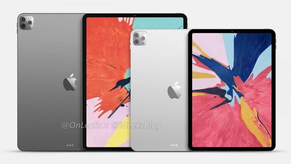 Рендеры iPad Pro 2020 показывают тройную камеру »ERdC