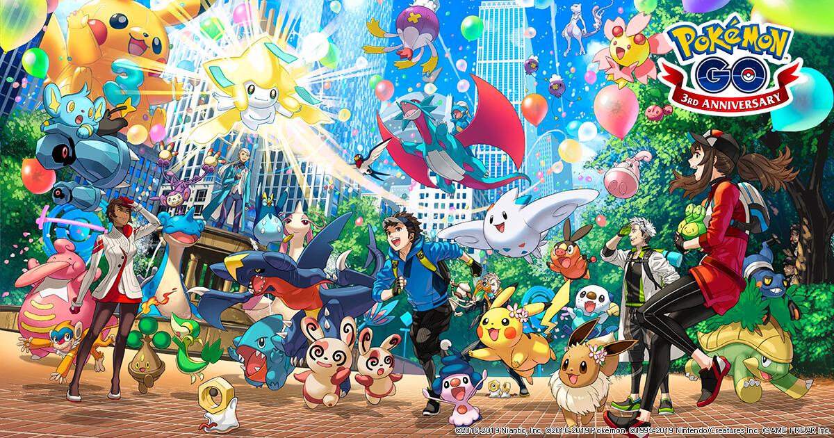 pokemon GOiversaryposter2019-2