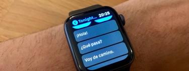 Как настроить ответы по умолчанию iMessage и Telegram в watchOS