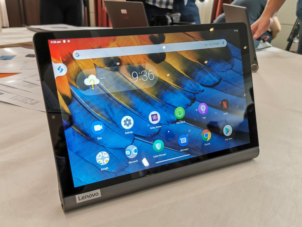 Новый Lenovo Yoga Smart имеет экран, который предлагает отличный визуальный опыт