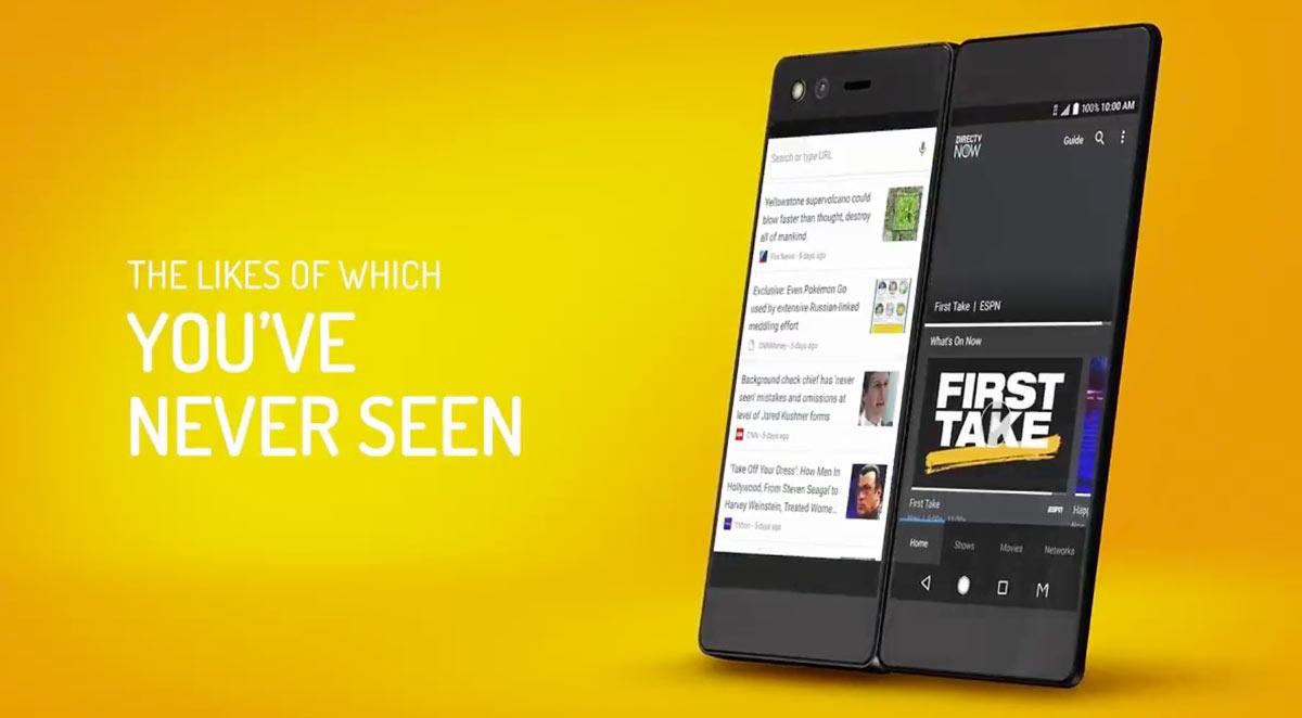 ZTE Axon M, мобильный телефон с 2 экранами, который превращается в планшет
