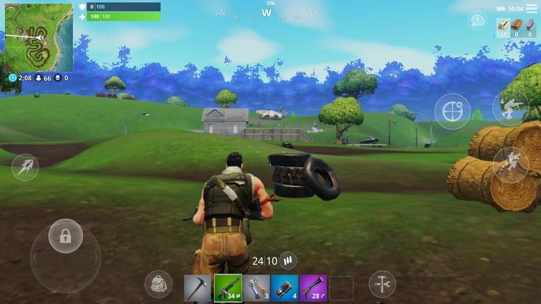 Fortnite - одна из лучших игр для iPhone