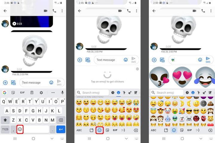 Скриншот Gboard Emoji Kitchen