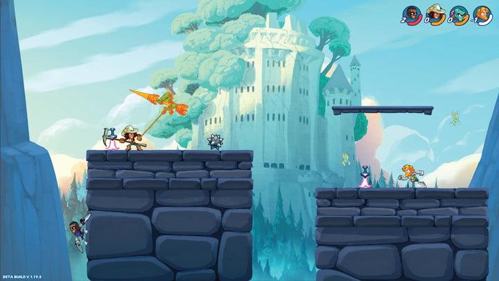 лучшие бесплатные игры для PS4 на Brawlhalla
