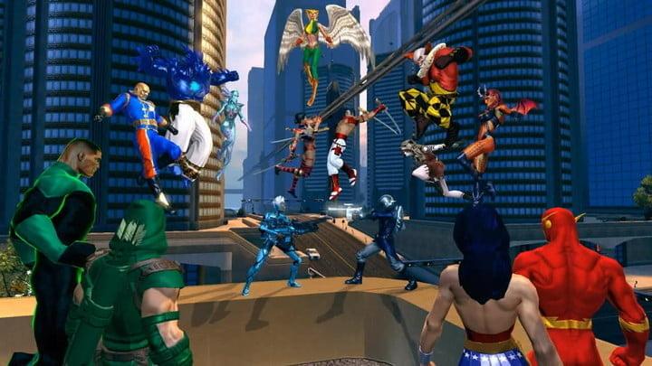 DC Universe Online - одна из лучших бесплатных видеоигр