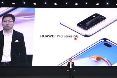 Ричард Ю, генеральный директор Huawei Mobile, в анонсе новых телефонов P40 5G