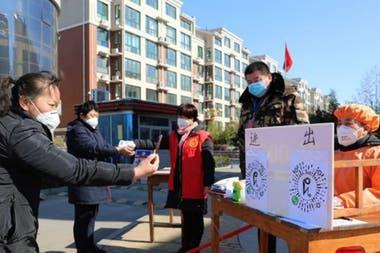 Граждане Китая используют приложения для отслеживания распространения коронавируса