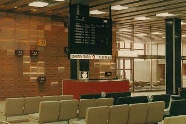 Совет в аэропорту Осаки, Япония, в 1965 году