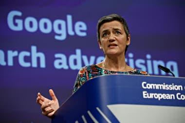 Маргрет Вестагер, вице-президент Европейской комиссии и ответственная за надзор за цифровой политикой Старого континента