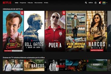 При просмотре или в результатах поиска по названию или жанру самые популярные фильмы или серии дня будут помечены надписью Top 10