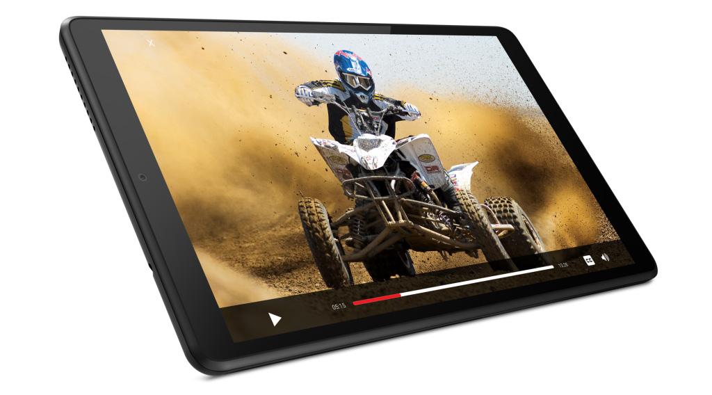 Благодаря своему IPS-экрану новая Lenovo Tab M8 предлагает отличные мультимедийные возможности