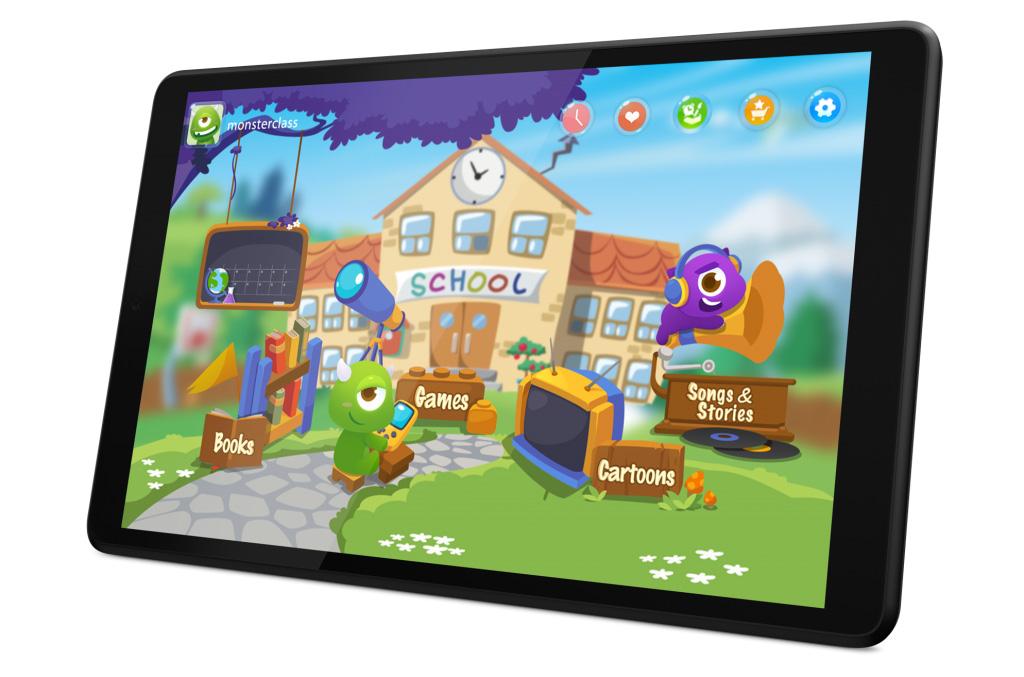 Lenovo Tab M8 идеально подходит для детей