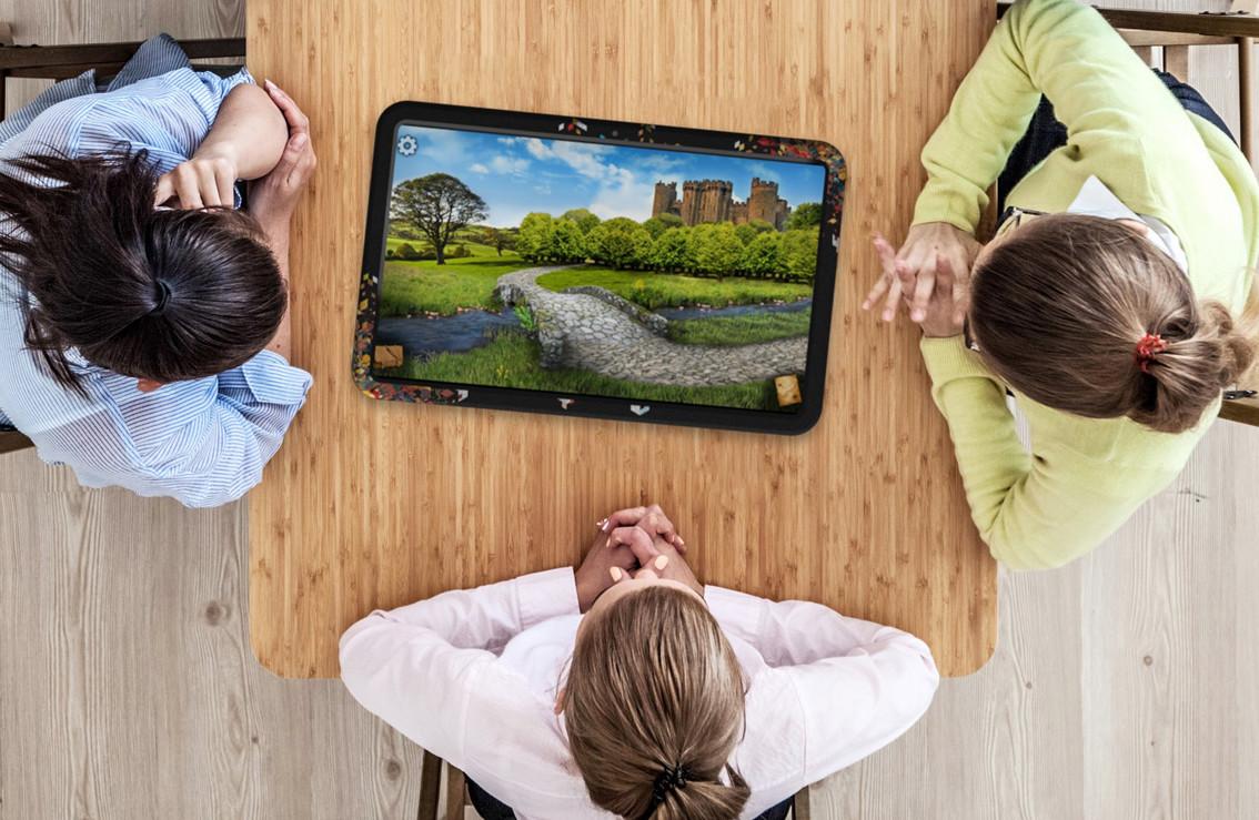 21-дюймовый планшет для настольных игр, как и ARCHOS Play Tab