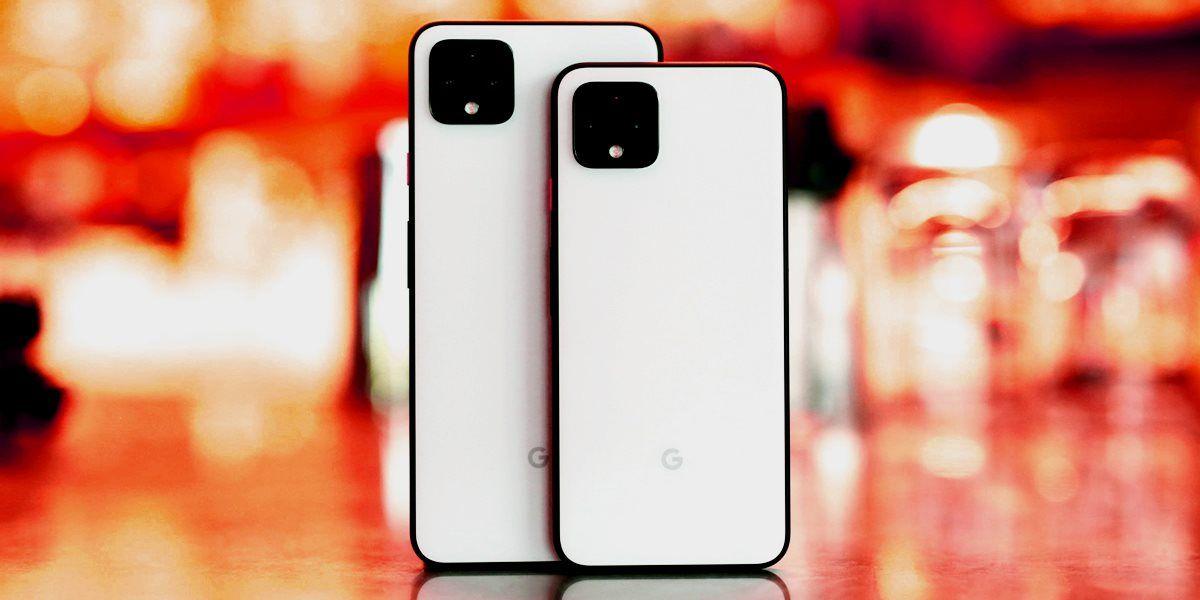 Корпуса Google Pixel 4 и Pixel 4 XL