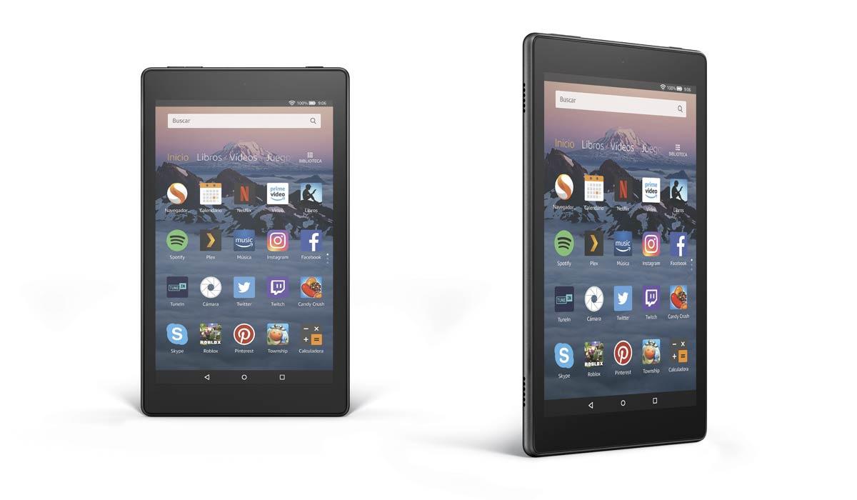 Amazon Fire HD 8, новый 8-дюймовый планшет менее чем за 100 евро