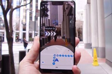 Live View, одна из последних функций, добавленных в Google Maps, будет иметь больше возможностей в обновленной версии приложения для iOS и Android