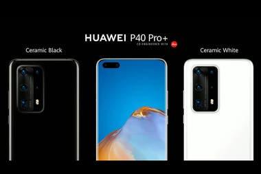 P40 Pro Plus, топовая модель Huawei, оснащенная пятью камерами
