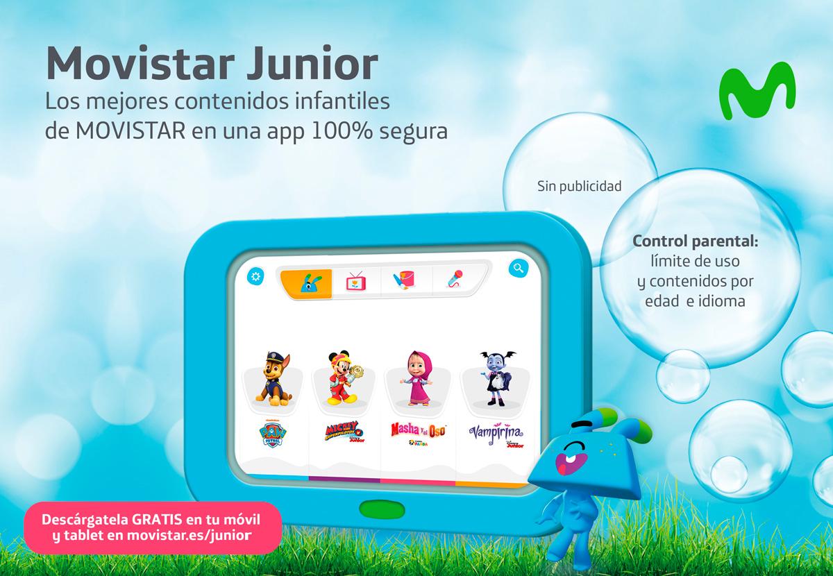 Movistar JappyTablet, новый планшет для детей