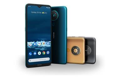 Nokia 5.3 - это модель среднего класса, которая поступит в продажу по цене $ 205.