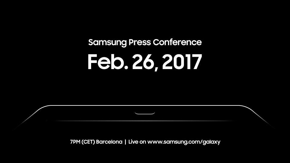 У Samsung будет мероприятие на MWC 2017, в продаже новая Galaxy Tab S3