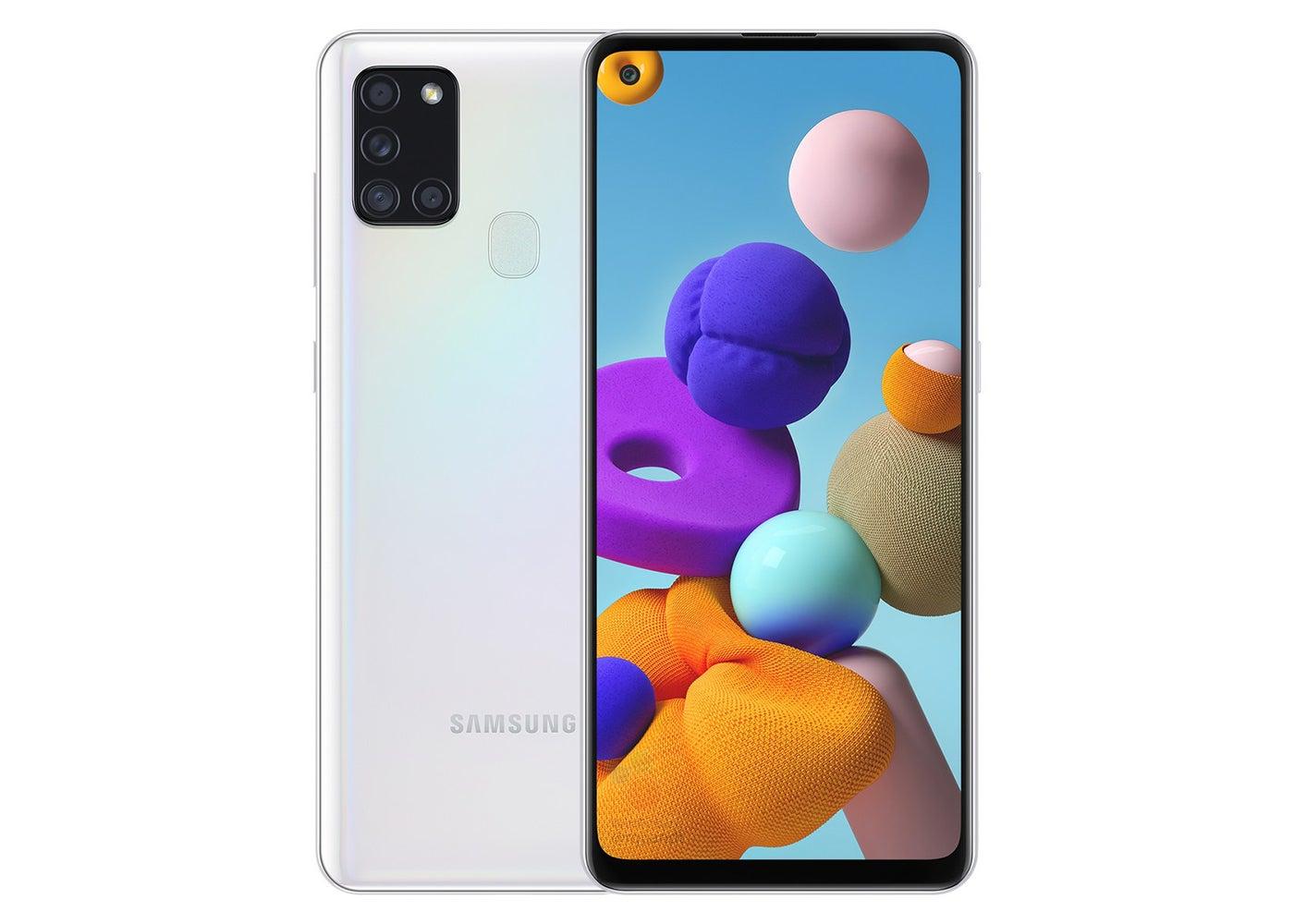 Samsung Galaxy A21s белый