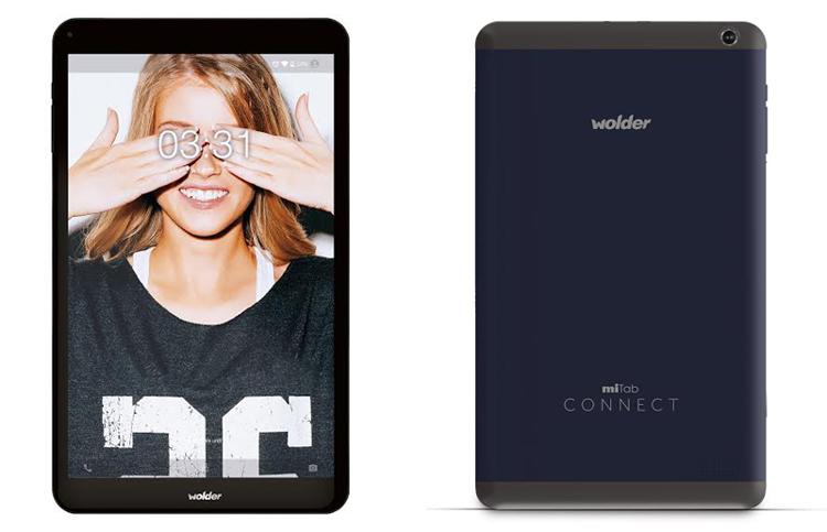 Wolder's 4G планшет