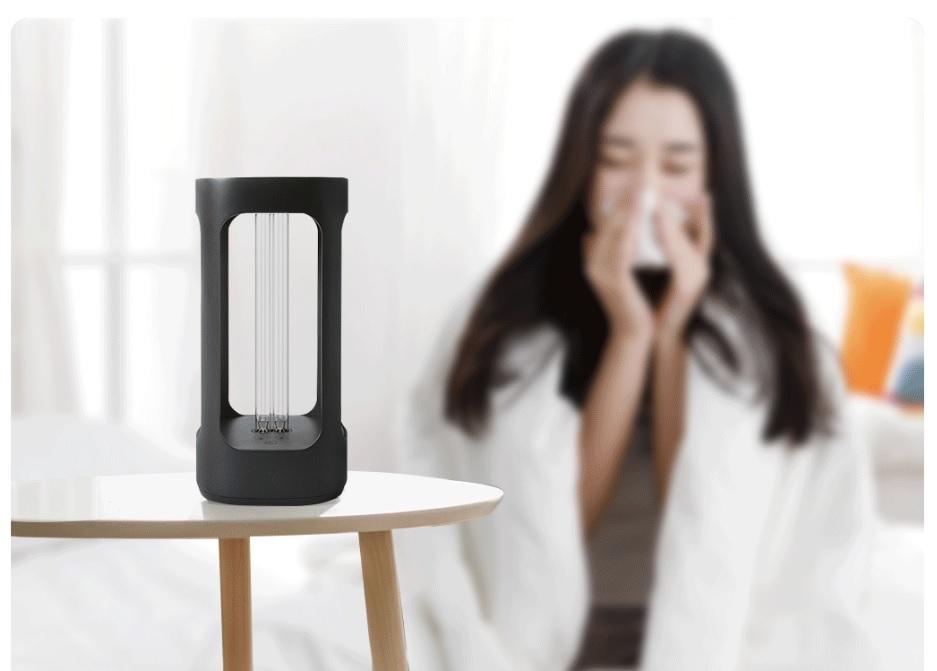 Xiaomi выпускает умную лампу, способную убивать воздушные вирусы в домах